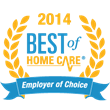 Centennial Senior Care Company Receives 2014 Best of Home Care® Employer of Choice Award