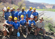 Youth Conservation Corps on the banks of the Colorado River