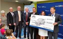 Hyundai Hope on Wheels Presents Award to St. Joseph's Children's Hospital