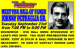 Johnny Petraglia, Sr. at Bowlerama September 23, 2014