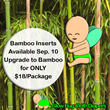 Glow Bug Cloth Diapers Introduces Bamboo Inserts