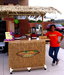 Maui Wowi catering unit in San Diego, CA