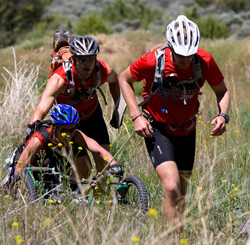 Team members at the 2011 Adventure Team Challenge in Colorado's Gore Range.