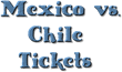 Mexico vs. Chile Tickets in Santa Clara, CA:  Ticket Down Lowers...