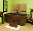 Lexington Copper Bathtub SC-LXT-65 From Sierra Copper