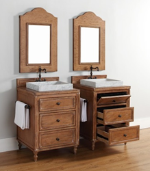 Copper Cove 26″ Single Bathroom Vanity 300-V26-DRP From James Martin Furniture