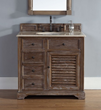 Savannah 36″ Single Bathroom Vanity 238-104-5511 In Driftwood From James Martin Furniture