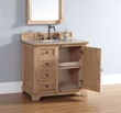 Providence 36″ Single Bathroom Vanity 238-105-5521 In Natural Oak From James Martin Furniture