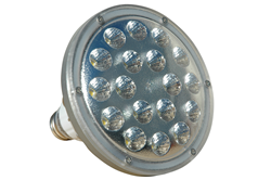 25 Watt PAR 38 LED Bulb Designed to Operate on 347-480 Volts