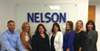 The Nelson team at the new office in Orange County