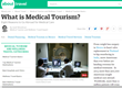 About.com's new Medical Tourism and Wellness Travel Section brings international healthcare information to its 90 million monthly visiters.