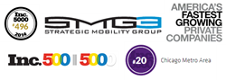 Strategic Mobility Group (SMG3) ranks 496 on the Inc. Magazine's 2014 500 list