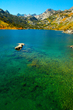 Autumn at Lake Sabrina in California's Eastern Sierra