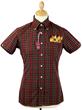 Brutus Trimfit x Dr Martens Men's Shirt in Oxblood