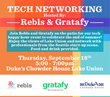 Seattle Seafood Restaurant Duke's Chowder House Partners with Rebls & Gratafy for Tech Networking Happy Hour Event.