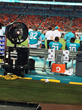 Power Breezer on the sidelines at the Miami Dolphins football game.