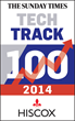 Edenhouse earn its place on the Sunday Times Hiscox Tech Track 100...
