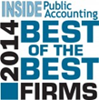 PYA Listed as 2014 Best of the Best Accounting Firms by IPA