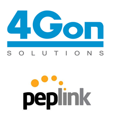 4Gon signs distribution agreement with Peplink