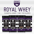 Sports Nutrition Brand, Royal Sport LTD, Introduces 'Clean,' Gluten Free Protein Supplement, Royal Sport Ultra Clean 100™
