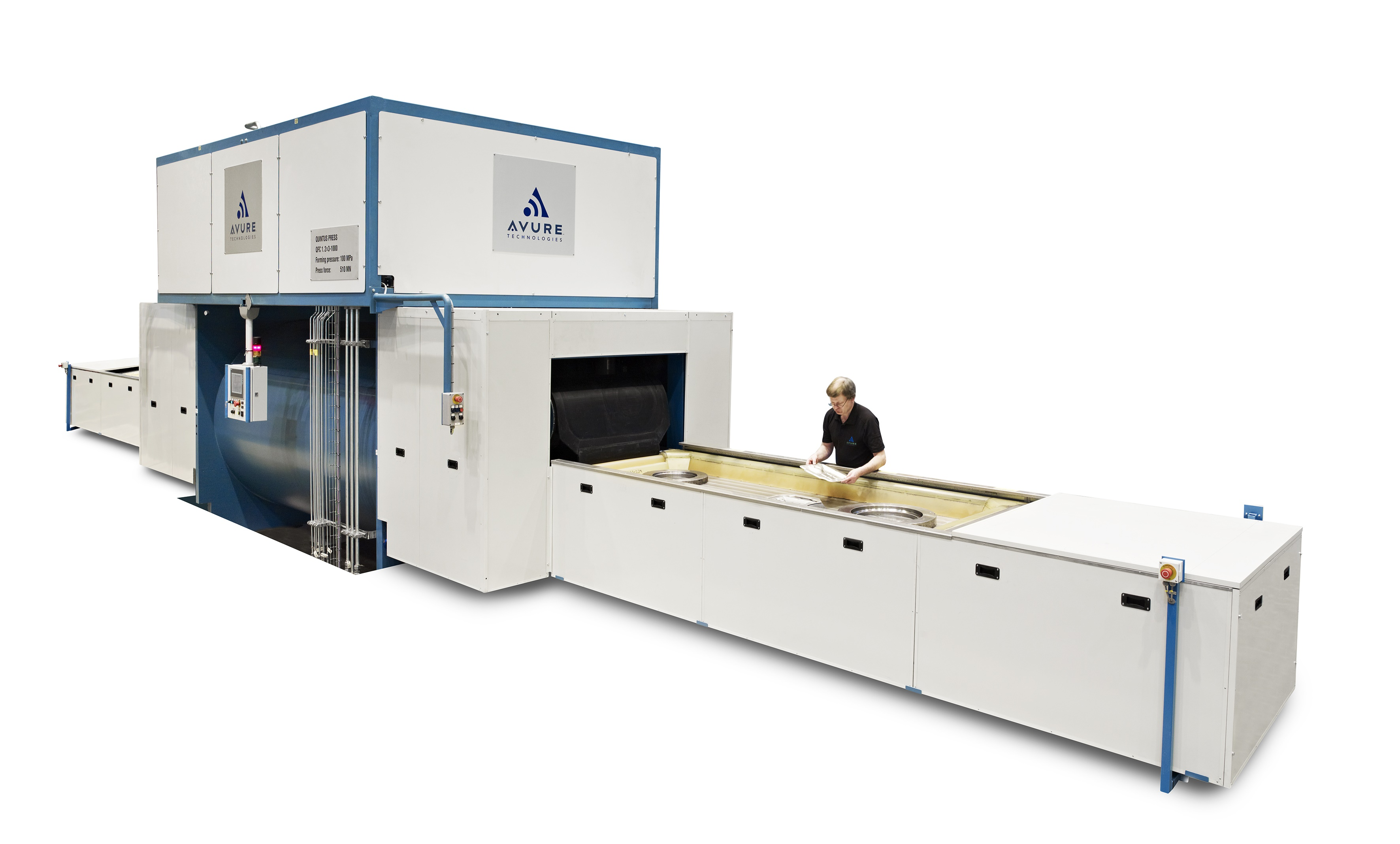 Two Chinese Suppliers Choose Avure Flexform Press For