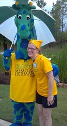 Houston, TX Hydrocephalus Association WALK 2013 Topper Giraffe