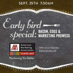 AMA Tampa Bay Healthcare Marketing Event with Dan Dunlop - Sept. 25th