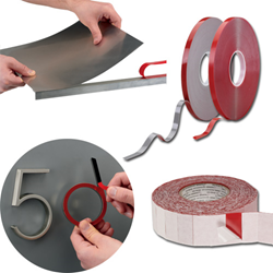 foam tape, double-sided tape, tape, clear tape, strong bonding tape, strong tape, mechanical fasteners