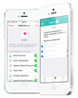 Patient IO Care Plant Platform Integrated with Apple HealthKit