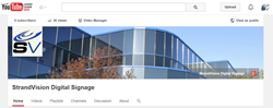 StrandVision offers Free Digital Signage Training on its new YouTube Channel