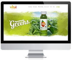 Vital Juice eCommerce Site by efelle