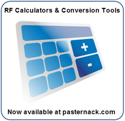 RF Calculators and Conversion Tools at Pasternack.com