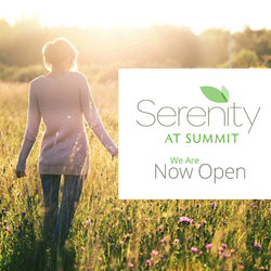 Serenity at Summit is Now Open