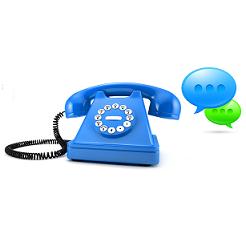 Landline texting