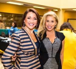 JTV Hosts Kristen and Kim at Jewel School 2013
