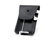 iPhone Spinn Case—black leather