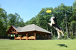 Charlie's Bark Park, a Place Where Guests of the Lake George RV Park Can Let Their Dogs Feel at Home