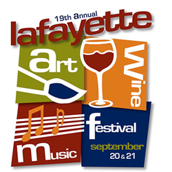 Lafayette Art & Wine Festival 2014 - Logo (Lafayette, CA)