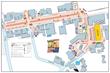 2014 Lafayette Art & Wine Festival Map