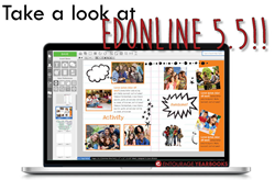 Yearbook company, Entourage Yearbooks, launches EDOnline 5.5.