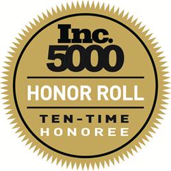 TQL ten-time Inc. honoree