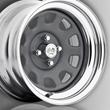 U.S. Wheel Drift Daytona Wheel, Gunmetal with Chrome Rim