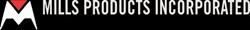 mills products black logo
