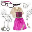 Reading Glasses with Swarovski crystal accents