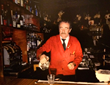 Michael Gotovac, Dan Tana's head bartender since 1967.