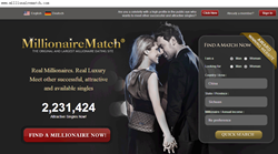 The largest dating site for meeting a millionaire:MillionaireMatch.com