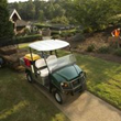 Club Car's Carryall utility vehicles also accommodate the new solar drive charging panels.