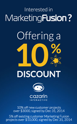Cazarin Interactive Coupon