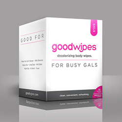 GoodWipes Deodorizing Body Wipe