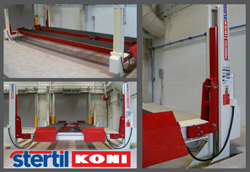 Stertil-Koni ST 4600 has a capacity of 132,000 lbs